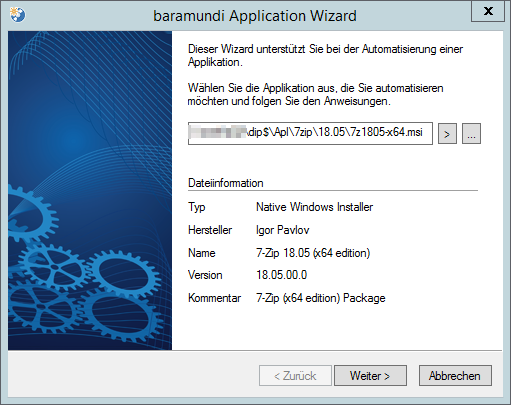 Baramundi Mangement Suite - Softwaredeploy