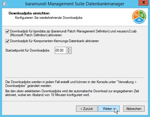 Baramundi Management Suite - Downloadjob Patchmanagement