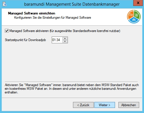 Baramundi Management Suite - Managed Software einrichten