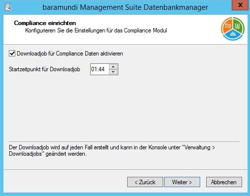 Baramundi Management Suite - Complaince einrichten