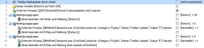 Fujistu Deskupdate - Deploy Script