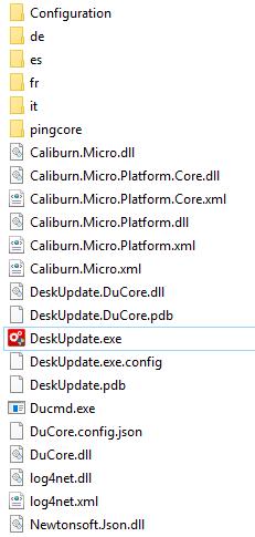 Fujitsu Deskupdate Version 5 - Dateien