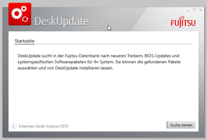 Fujitsu DeskUpdate Version 5