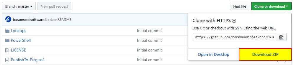 GitHub Download