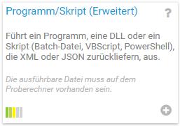PRTG - Programm/Skript (Erweitert)